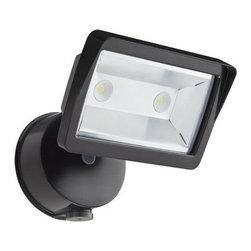 Lithonia Lighting - Lithonia Lighting OLFL 14 PE BZ M4 18 Watt LED Security Floodlight - Features: