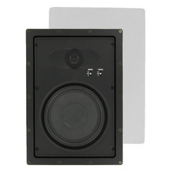 """InwallTech - InwallTech HD-650.2W High Definition 6 1/2"""" Virtually Invisible Wall Speakers - Set of Two"""
