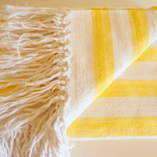 Contemporary Blankets by Etsy