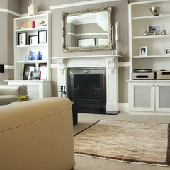 contemporary family room by Holly Marder