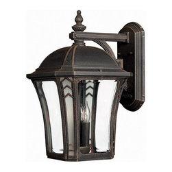 Hinkley - Hinkley Lighting Wabash 3 Light Outdoor Wall Lantern in Mocha 1335MO - Brand Information