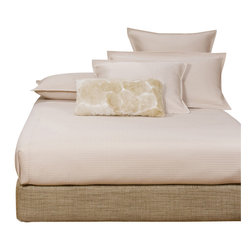 Howard Elliott - Coco Stone Full Boxspring Cover - The boxspring cover works as a fitted bed skirt. Stone cover provides the perfect base for your fits most standard size boxspring mattresses.