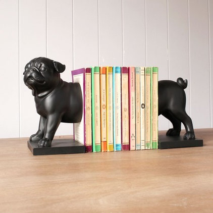 Eclectic Bookends by Graham and Green