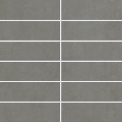 Sky Collection Greensky Design 3 Mosaic - StonePeak's SKY collection consists of four shades of grey which very subtly differentiate one from the other like the diverse hues of a metropolitan sky.