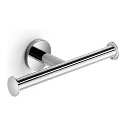 WS Bath Collections - Napie 53063 Toilet Paper Holder - Napie by WS Bath Collections Bathroom Double Toilet Paper Holder in Polished Chrome