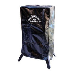 "Landmann - Smoker Cover - Fits Landmann 3450GLA and 3450CLA and smokers with cooking chamber size 34""x20""x14"". Made of durable weather resistant PVC with lining material. Zippered side allows for easy removal and covering of the smoker. Velcro straps on bottom secure the cover to the smoker and prevent the wind from pulling the cover off."