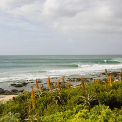 Murals Your Way - Jbay, South Africa Wall Art - A line of waves break along the shore at JBay, a town located in the Eastern Cape province on the coast of South Africa.