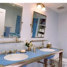 Traditional Bathroom by Ana Williamson Architect