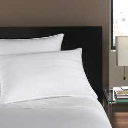 Hotel Collection Bedding, Standard/Queen Soft Down Pillow - The softness of down, the luxury of Hotel Collection. Bring the best to your bedroom with lofty, European goose down fill wrapped in smooth, 400-thread count cotton and finished with an embroidered Hotel Collection logo. It's an indulgence you'll enjoy night after night. Removable cover. Only at Macy's. As featured on Oprah's Favorite Things 2012.