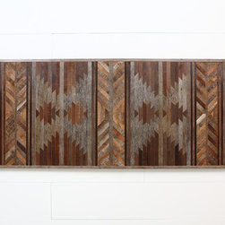 "Wood wall art, made of old barn wood. 60""x30"" - This is the exact one that is available to ship out right away."