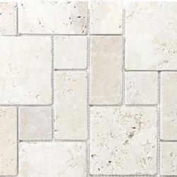 Chiaro Natural Stone Mosaic Wall Tile - Chiaro Natural Stone Mosaic Wall Tile -