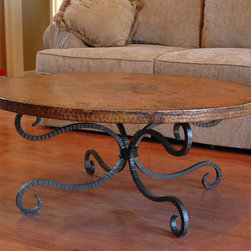 Alexander Coffee Table by Mathews & Co. - Dimensions: