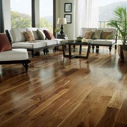 2012 Homes - Black walnut wide plank engineered flooring