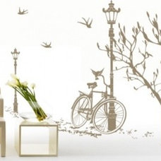 Eclectic Wall Decals by Couture Déco