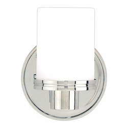 """Hudson Valley Lighting - Hudson Valley Lighting 2051  Single Light 5"""" Wide Bathroom Fixture from the Sout - *Southport Collection 1 Light Wall Sconce 4 5/8"""" W x 6 1/8"""" H x 4 1/4"""" E 1-75 w Halogen Bulbs Included"""