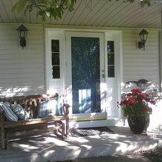 Traditional Exterior Home Entrance