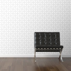 WallsNeedLove Bike Chain Shadow Self-Adhesive Wallpaper - A subtle gray on white bike chain pattern makes the WallsNeedLove Bike Chain Shadow Self-Adhesive Wallpaper mesmerizing. The ultimate wallpaper, this one is self-adhesive and a breeze to use: simply peel and stick, and then remove or reposition as you desire. About Walls Need LovePeel. Stick. Repeat. Walls Need Love started in 2009. They are a small company filled with people-loving sticker fiends. Walls Need Love wants to make your house the stylish dream home you've always wanted and do it with easy-to-use vinyl wall decals. Walls Need Love has been featured in Better Homes and Gardens, Good Housekeeping, USA Today, Fab, and Apartment Therapy.
