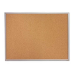 Quartet Shelf Healing Cork Bulletin Board - Aluminum Frame - 96 x 48 in. - About QuartetQuartet knows that you just have to write it down or you'll forget. They've been in the whiteboard, bulletin board, and chalkboard business since 1945 and have perfected the art of the perfect surface. Today, they boast a full line of visual communication products used at home, in the office, in hospitals, and in schools across the country. When you're looking for a product to help you communicate, you're looking for Quartet.