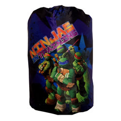 Jay Franco and Sons - Teenage Mutant Ninja Turtles Sleeping Bag Backpack Set - FEATURES: