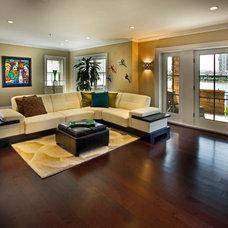 Contemporary Living Room Edgewater