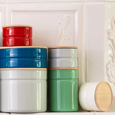 Contemporary Kitchen Canisters And Jars by Rodale's