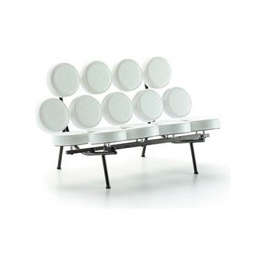 Vitra Miniatures Collection: Marshmallow Sofa - This little mini Nelson sofa is made by Vitra at a scale of 1:6 from the original. Think of it as a little sculpture and treat it as the work of art that it is.