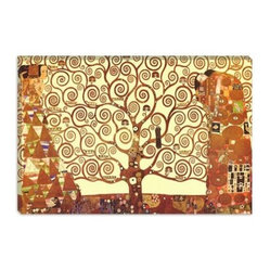 The Tree of Life by Gustav Klimt Canvas Painting