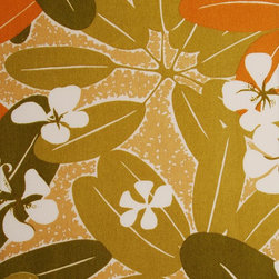Pago Pago Blossom - Autumn Upholstery Fabric - Item #1011933-132.