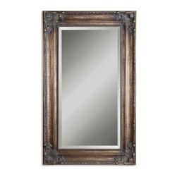 Uttermost - Uttermost 14145 B Bertha Oversized Bronze Mirror - Uttermost 14145 B Bertha Oversized Bronze Mirror