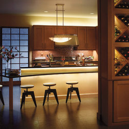 Cabinet Lighting - Kichler Design Pro LED - Night