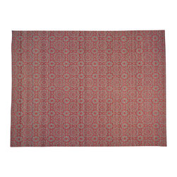 1800-Get-A-Rug - Hand Woven Oriental Rug Reversible Durie Kilim 100 Percent Wool Sh19976 - The Flat Weave hand woven rug is a type of area rug created by weaving wool onto a foundation of cotton warps on a loom. The Flat Weave rug offers the same beauty and durability as the classical thick-pile Oriental rugs, but without the telltale thick pile often spotted in other handmade rugs. This gives the Flat weave a thin and flat appearance which resembles the Needlepoint, making them wonderfully ideal choices as accent rugs, wall hangings, or to drape over furniture and staircases.