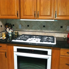 Traditional Kitchen Countertops by The Granite Shop