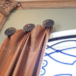 Elegant Window Treatments - The WIndows are the Eyes of the Room - Deziner Tonie - Decorating Den Interiors