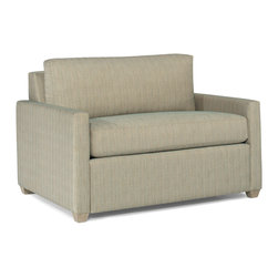 Lazar Industries - Terra Chair Sleeper in Discover Natural - Terra Twin Sleeper:  Lazar's most compact model allows for a lot of comfort and style regardless of your space.