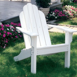 Seaside Casual Classic Adirondack Chair - Seaside Casual Furniture has been providing outdoor products to Southern New England for nearly 100 years. We are confident that you are viewing the finest ready to assemble outdoor furniture products available.