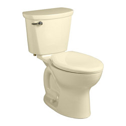 "American Standard - American Standard 215C.A104.021 Cadet Pro Elongated 12"" Rough Toilet, Bone - American Standard 215C.A104.021 Cadet Pro Elongated 12"" Rough Toilet, Bone. This vitreous china constructed elongated toilet meets EPA WaterSense criteria, a trade-exclusive tank, a PowerWash rim that scrubs the bowl with each flush, a robust metal left-sided trip lever/metal shank fill valve assembly, an EverClean surface, a 4"" piston-action Accelerator flush valve, a 12"" Rough-in, a chrome finish trip lever, and a fully-glazed 2-1/8"" trapway."