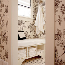Traditional Bathroom by Hyde Evans Design