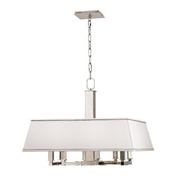 HUDSON VALLEY LIGHTING - Hudson Valley Lighting Kingston Chandelier, Polished Nickel - Free Shipping