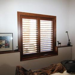 Morrison residence Hunter Douglas New Style Hybrid Shutter - Colorado Shade and Shutter