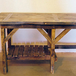 Salem Desk - Hand made from reclaimed