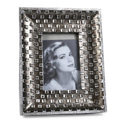 "Concepts Life - Concepts Life Photo Frame  Silver Pebble  4x6"" - Emulating a fine piece of jewelry, our Silver Pebble frame will add texture and depth to your photographs, making them the centerpiece of your photo collections.  Modern home accent Contemporary silver picture frame Beautiful and elegant home accent Rectangular photo frame Made of polyresin Textured finish Easel back for horizontal or vertical display Various sizes available Holds 4 x 6 in. size photo Dimensions: 8""w x 10""h x 1""d Weight: 1.5 lbs"