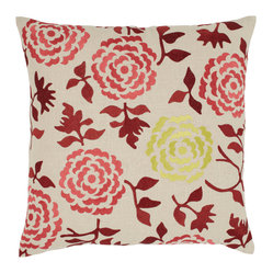 Wallflower Pillow, Cinnamon