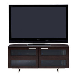 BDI - Avion II TV Stand, Double Wide With Freestanding TV Motion - Standing room only! Keep all your components behind closed doors with this smartly designed TV stand, with plenty of room to house everything.