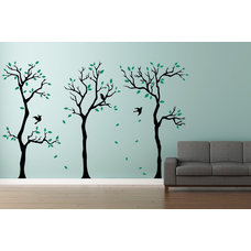 Contemporary Wall Decals by Cherry Walls