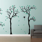 Little Forest Trees Wall Decals