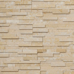 Realstone Systems Collection Series Roman Beige Honed - The Realstone Systems Collection is an exclusive sampling of some of the most beautiful natural stone in the world with color and pattern combinations only available from Realstone Systems. Each piece is hand made to the exacting standards and attention to detail, which Realstone is known for. The exclusive new line of luxury thin stone veneer panels, corners, ends, hearths and tiles is available in marble, travertine, sandstone and limestone.