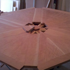 Eclectic Dining Tables by Arroyo WoodWorks