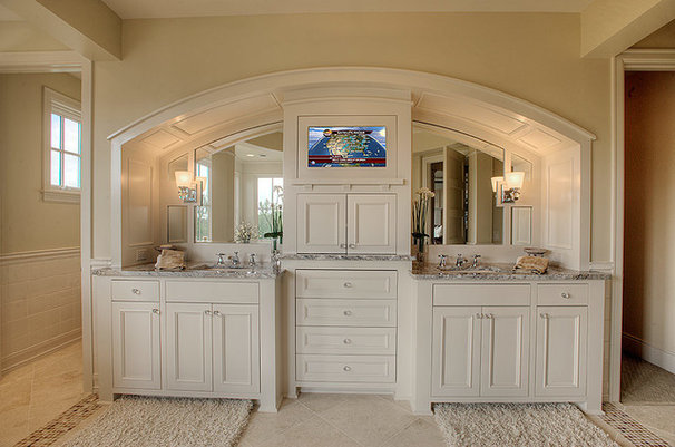 Traditional Bathroom Vanities And Sink Consoles by Designed Cabinets