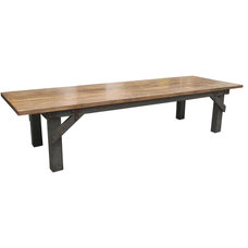 Eclectic Dining Tables by Mortise & Tenon Custom Furniture Store