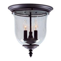 Livex Lighting - Livex Lighting 5021 Legacy 3 Light Flush Mount Ceiling Fixture - Specifications: